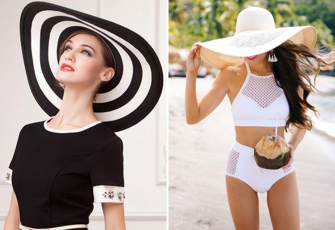 модные летние шляпы 2017