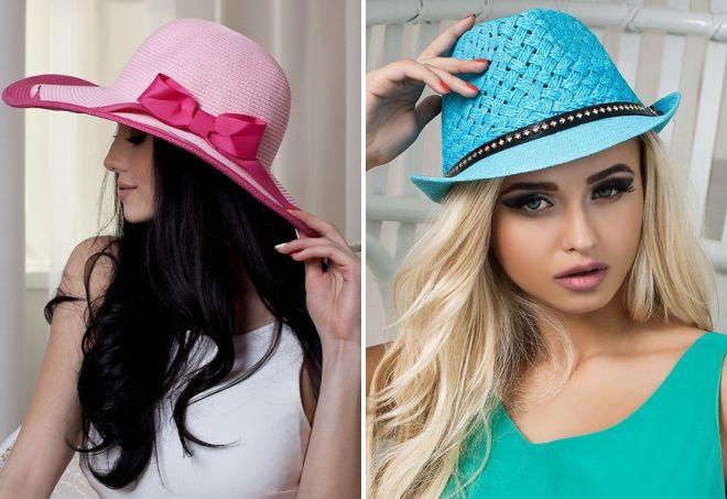 модные летние шляпы