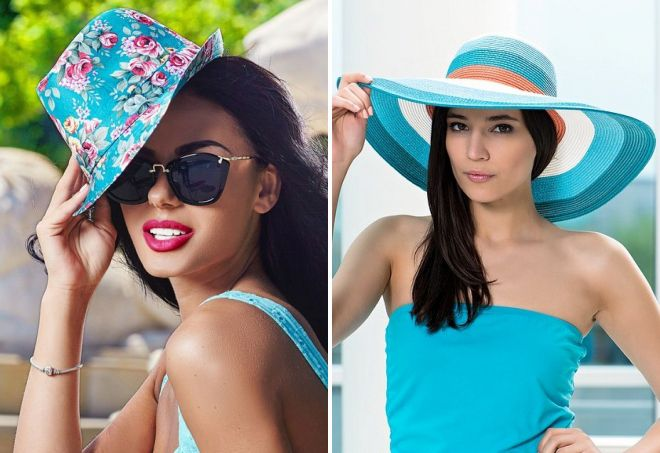 женские летние шляпы от солнца