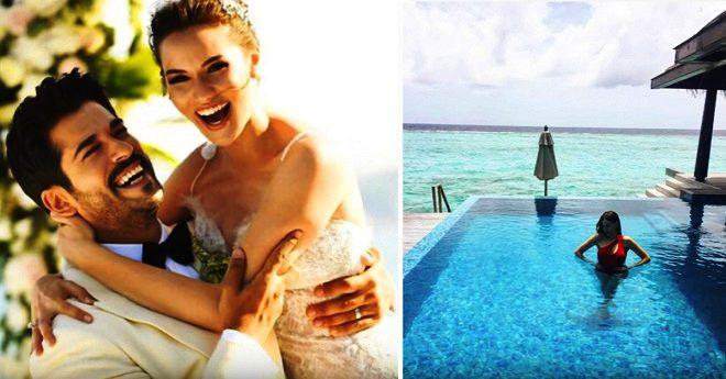 бурак озчивит и фахрие эвджен медовый месяц