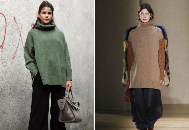 модные свитера из кашемира