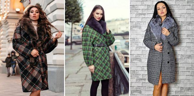 Проверете го палтото со крзно