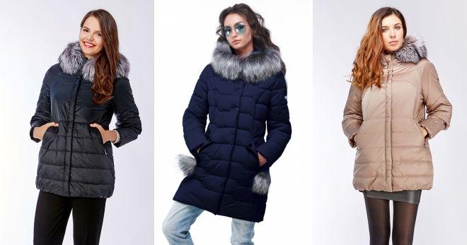 Quilted skinn jakki