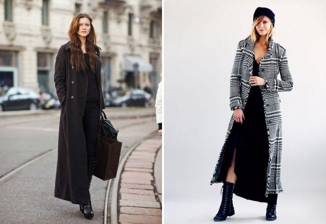 apa yang harus dipakai dengan mantel panjang klasik
