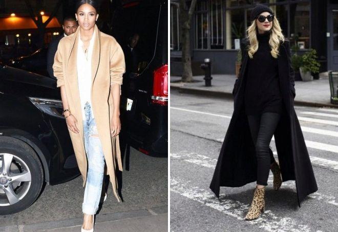 یک کت بلند با آنچه 2019 را می پوشند