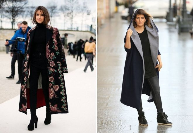 apa yang harus dikenakan mantel panjang di musim gugur dan musim semi