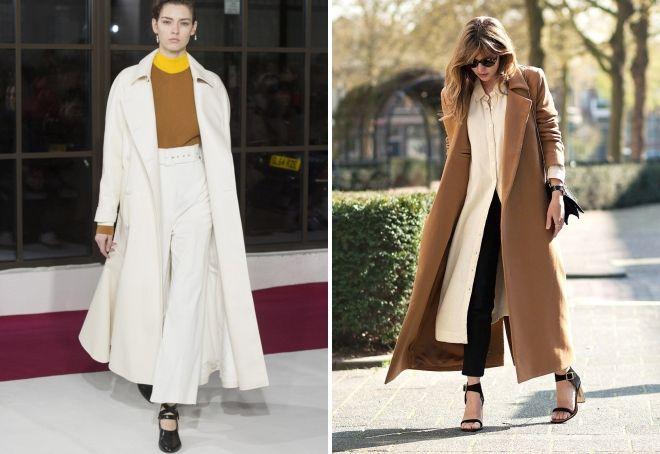 apa yang harus dipakai dengan mantel panjang wanita