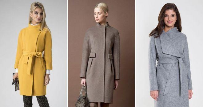 Женское пальто на молнии 2019