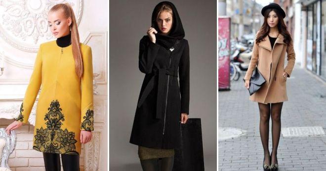 С чем носить пальто на молнии романтика
