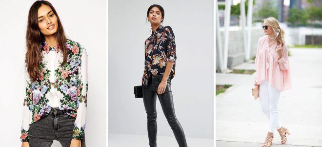 модные блузки 2018