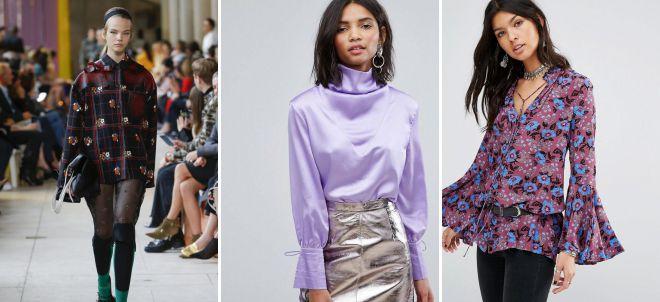 модные женские блузки 2018