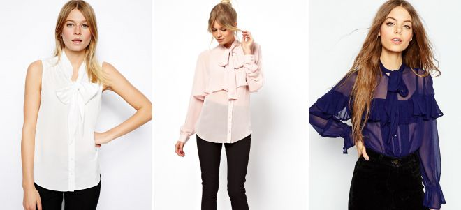модные фасоны блузок 2018