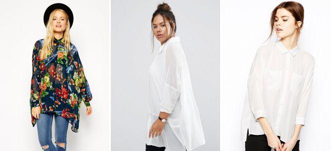 какие блузки в моде 2018