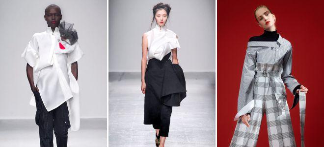 асимметричные блузки 2018