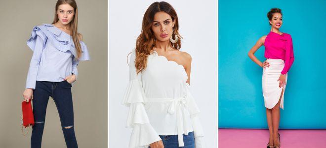 женские блузки 2018