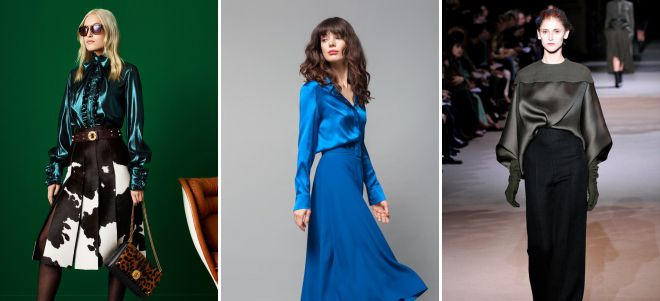 блузки 2018 года с чем носить