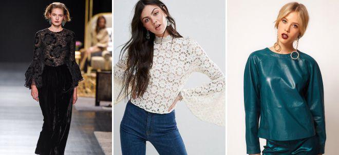 нарядные блузки 2018