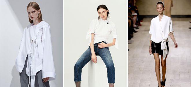 самые модные блузки 2018