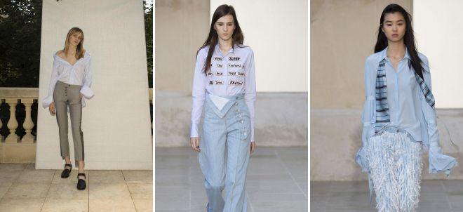 блузка минимализм 2018