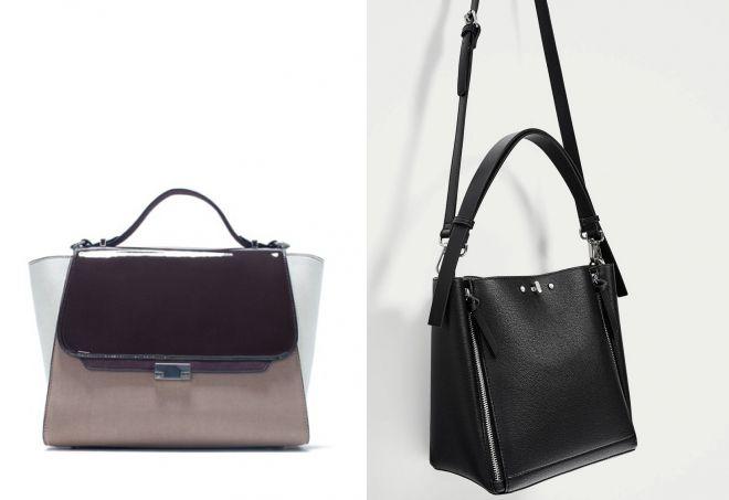 женские сумки зара
