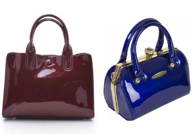 синяя сумка саквояж
