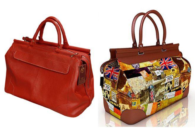 дорожная женская сумка саквояж