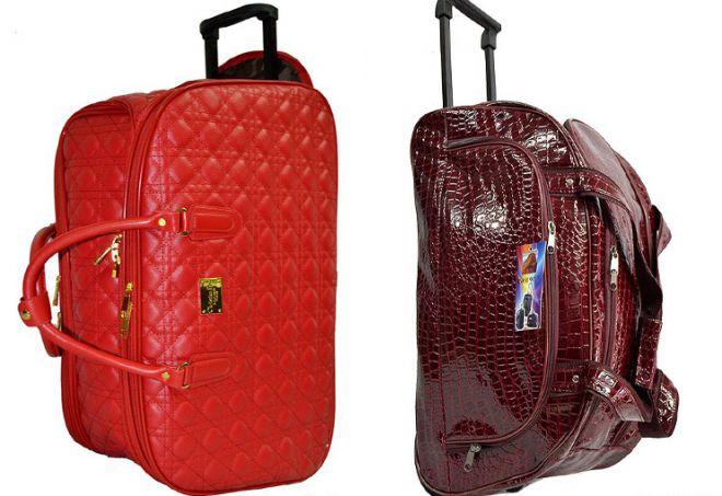 сумки саквояж на колесах