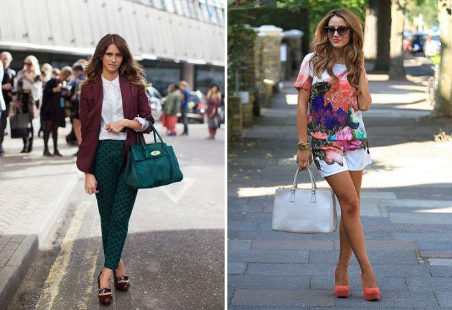 модная женская сумка саквояж