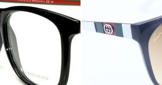 Gucci عینک را چگونه تشخیص یک جعلی