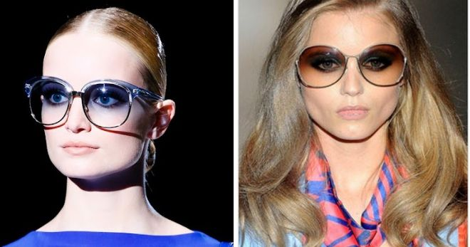 عینک آفتابی Gucci Round