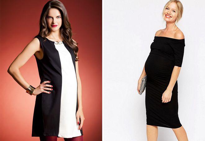 01da8db6c29e4a6 Модные платья для беременных – красивые и нарядные, длинные и ...