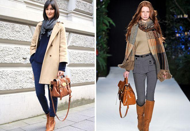 Образы в деловом стиле в кожаным рюкзаком