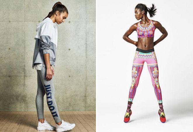 одежда для фитнеса найк