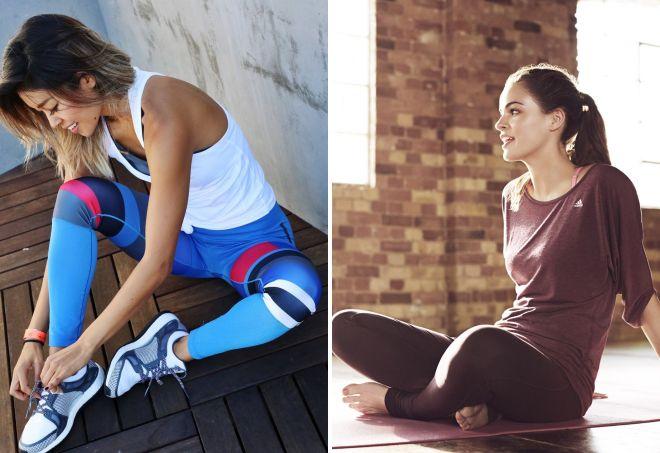 одежда для фитнеса адидас