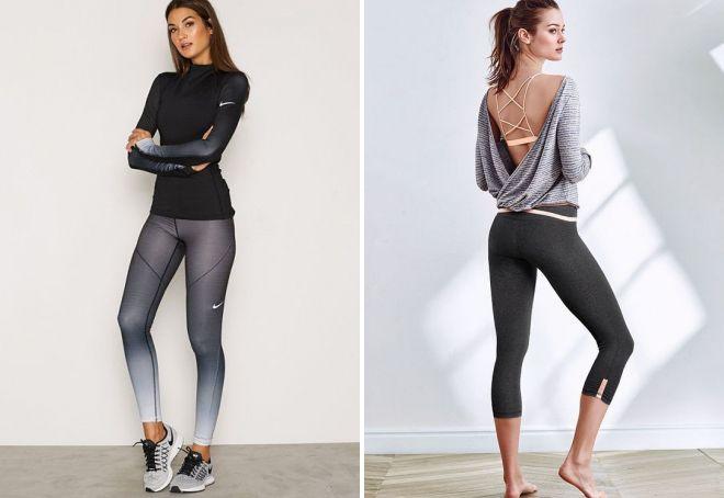 стильная одежда для фитнеса