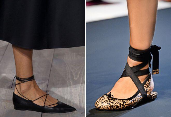 женские туфли на шнурках без каблука