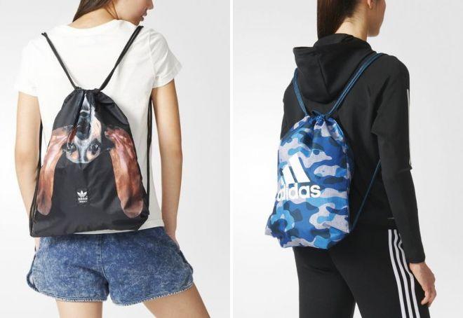 стильная сумка адидас