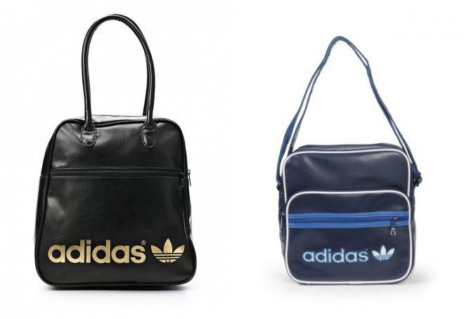 кожаная сумка adidas