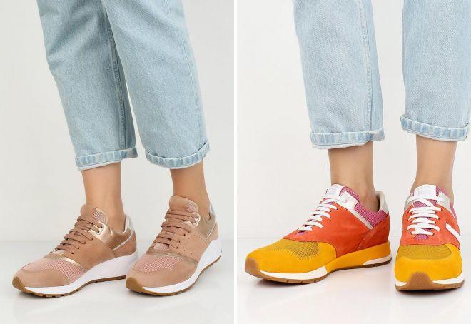 женские кроссовки Geox