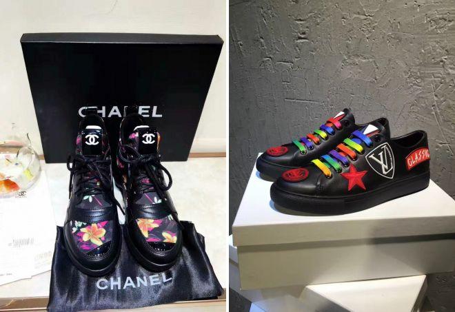 как отличить брендовые кроссовки от подделки