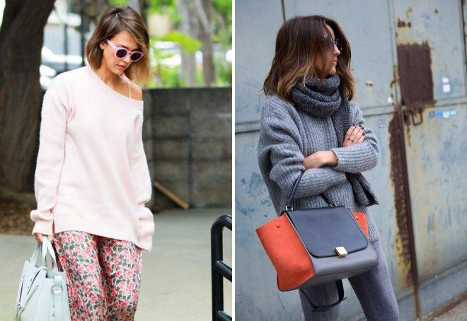 модные объемные свитера