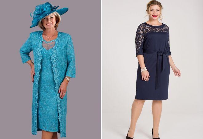 гипюровые платья для женщин после 50 лет