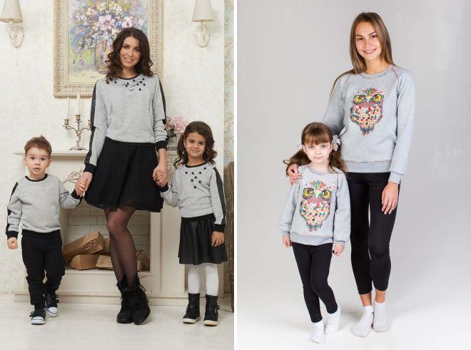 sweatshirts famille arc