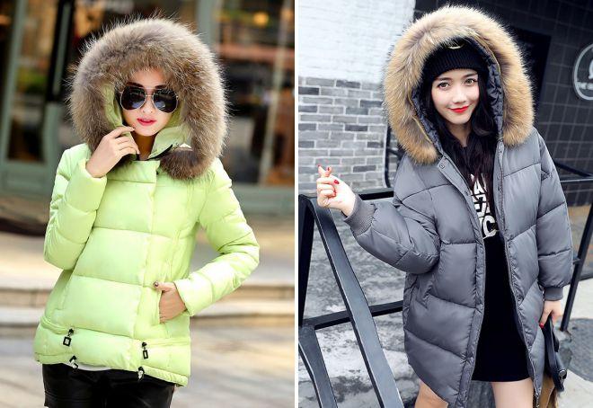c09534f33c26 Стильные женские куртки с мехом на зиму – короткие, длинные ...