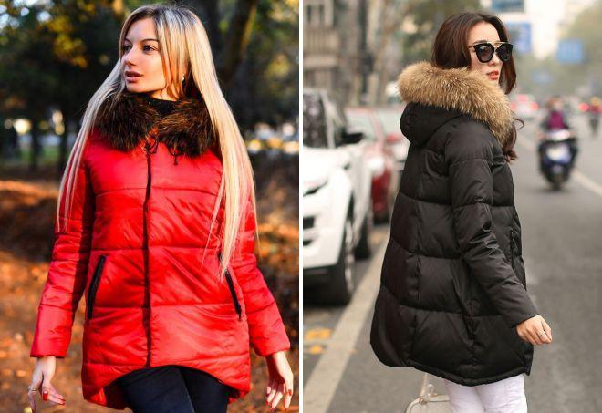 543a97b63ee Стильные женские куртки с мехом на зиму – короткие