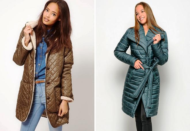 брендовые длинные зимние куртки