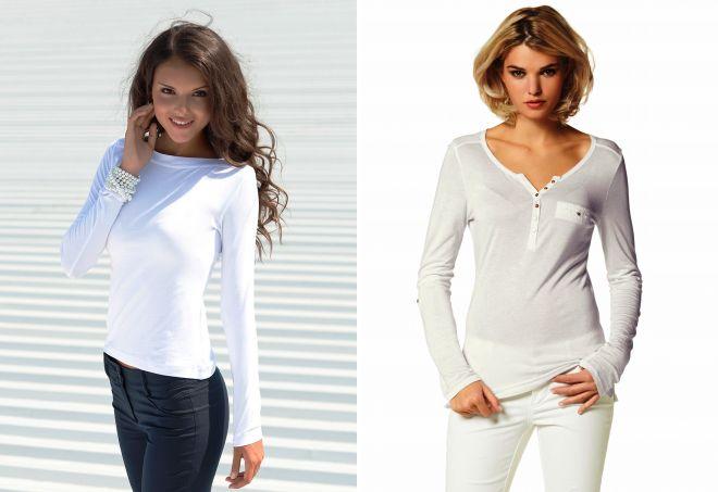 Джинсы и белая футболка девушки фото