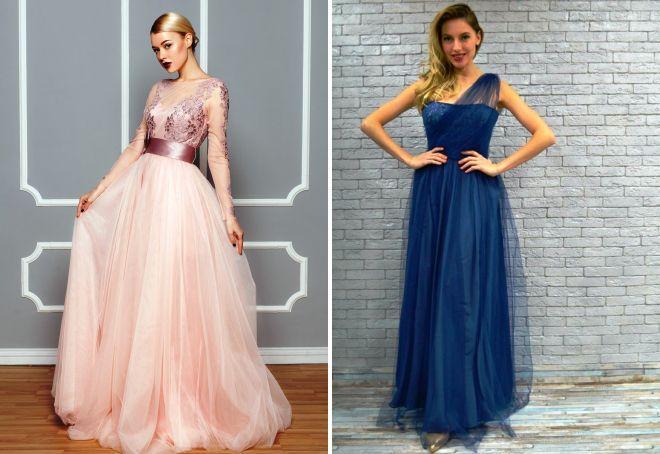 4276bf82e77 Красивое платье из фатина – вечернее и повседневное