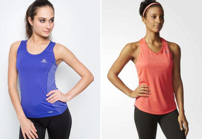 Модные женские майки 2018 – шелковые, вязаные, спортивные ... - photo#20