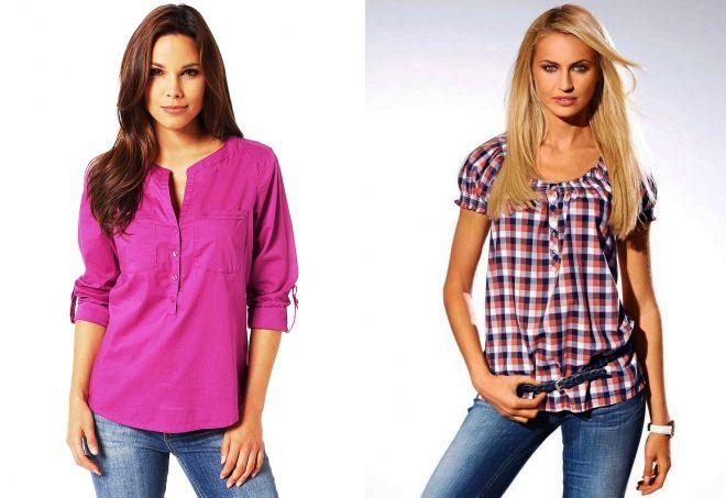 модные летние рубашки
